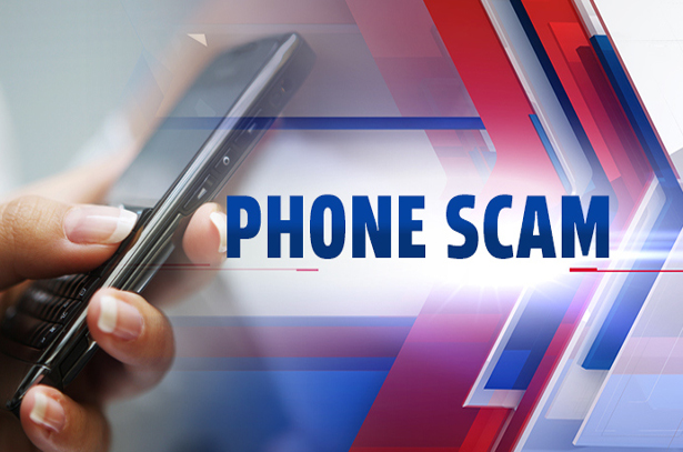 Phone Scam graphic (image credit Fox43)